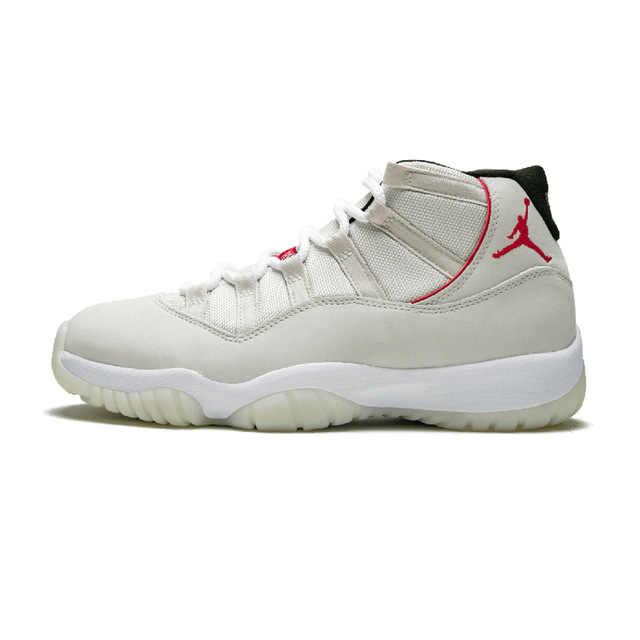 1c07e0f69638 ... KFJ AIR US JORDAN 11 Gym red Basketball shoes Bulls Flu game University  blue College ovo ...