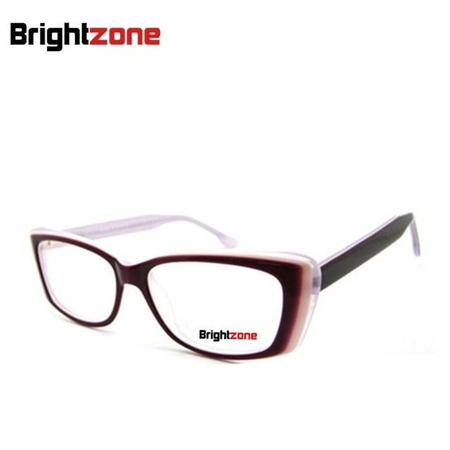 2016 New Arrival venda factorydirect mulheres olho de gato óculos de acetato quadros armações de óculos mulheres olho de vidro do sexo feminino B140259