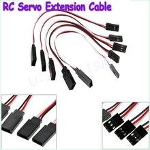 10pcs/lot RC Servo Extension Cord Cable Wire 150mm Lead JR Wholesale