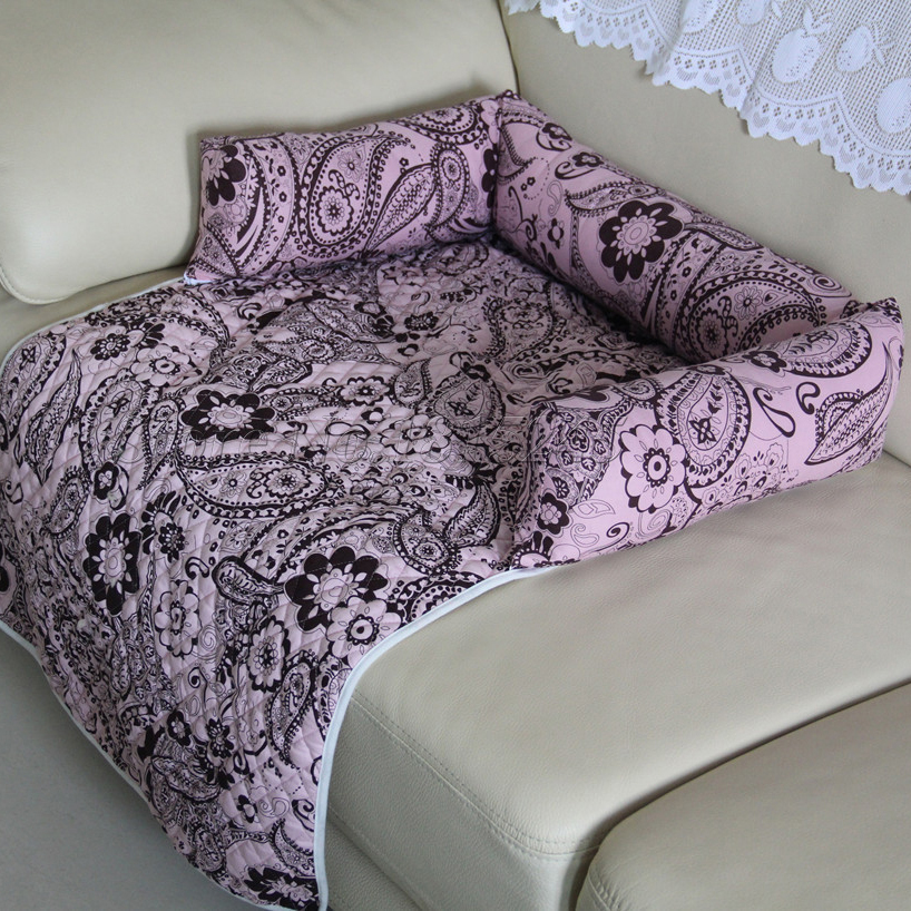 Pet Couch Bed Cushion Sofa Chair Cover Blanket Reversible Couch Furniture  Protector Soft Cozy Dog Puppy Cat Mat Flower Print In Houses, Kennels U0026  Pens From ...