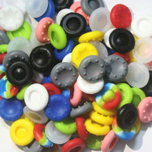 Wholesale 100pcs/lot Thumbstick Joystick Silicone Grip Caps For Sony PS4 / PS3 / XBOX 360 / XBOX ONE Controller Silicone Caps
