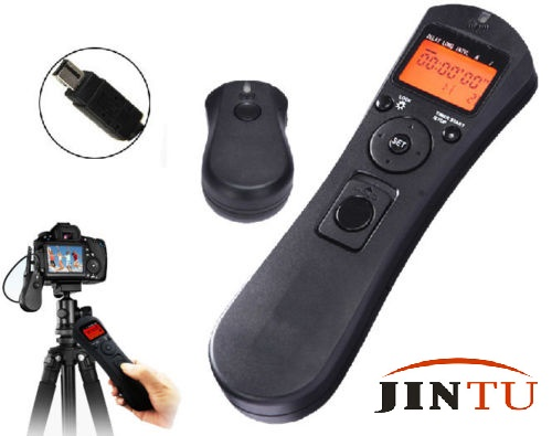 JINTU 2.4G бездротової таймер дистанційного керування випуском затвора N3 для Nikon камери D3100 D5000 D7200 D600 D610 D750 D5400 D750