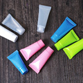100pc/Lot 5ml 10ml Plastic Lotion Portable Bottle Rotated Cap Colorful Cosmetic Empty Tube Hose Refillable Makeup Bottle