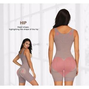 Image 4 - FeelinGirl Full Body Shaper Slimming Waist Trainer Modeling Belt Thigh Reducer Tummy Control Butt Lifter Push Up Shapewear Fajas