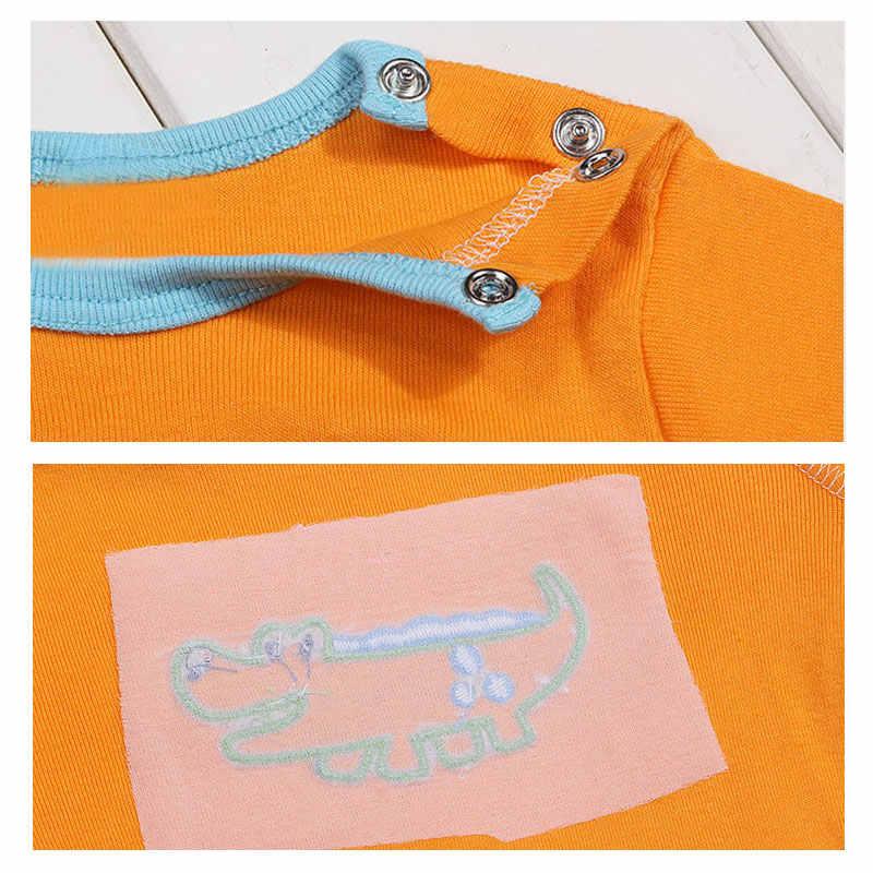 [5 ชิ้น/ล็อตสุ่มสี] เสื้อยืดเด็ก 100% ผ้าฝ้ายพิมพ์เด็กสาว Tops ฤดูร้อนแขนสั้นเด็กวัยหัดเดิน tshirt เสื้อผ้า