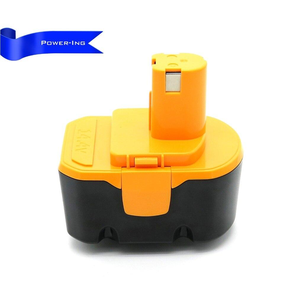 14.4 v 2000 mah batterie de remplacement pour batterie d'outil électrique pour RYOBI