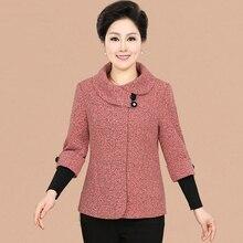 NIFULLAN Spring Autumn New Fashion Plus Size Women Jacket Coat Slim Long-Sleeved