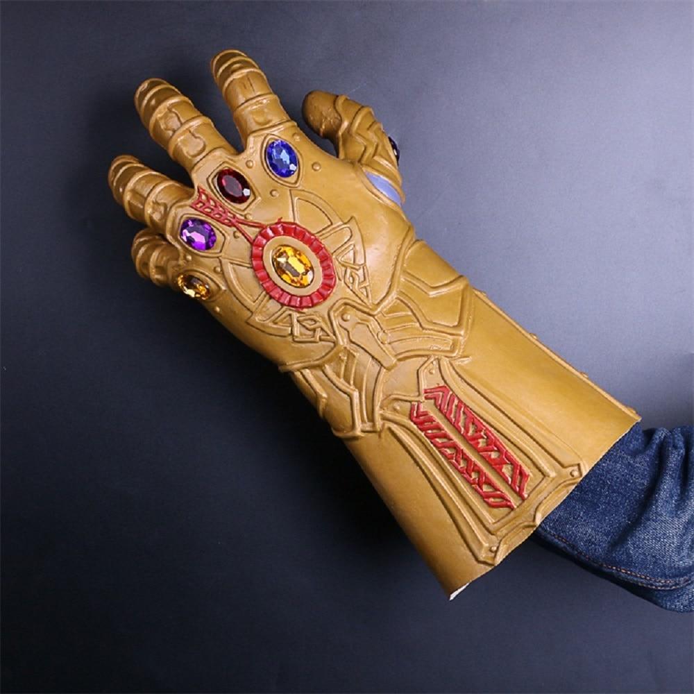 The Avengers Thanos Infinity Gauntlet Cosplay Gloves Prop Halloween - Disfraces
