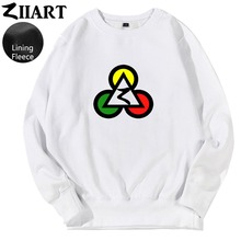 Poker Club Egypt Pyramids Jamaica Reggae Red Yellow Green Triangle Circle couple clothes boys man male fleece Sweatshirt цена и фото