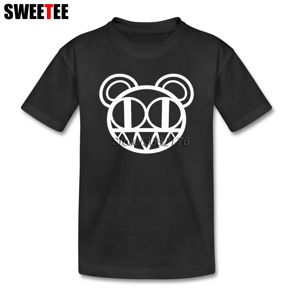 Thom Yorke children Radiohead T Shirt 100% Cotton British Rock Crew Neck Tshirt Clothes boys girls 2018 New T-shirt For kids