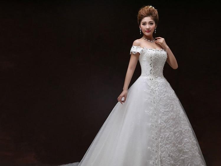 2016 New Designed Cap Sleeves Princess Wedding Dresses
