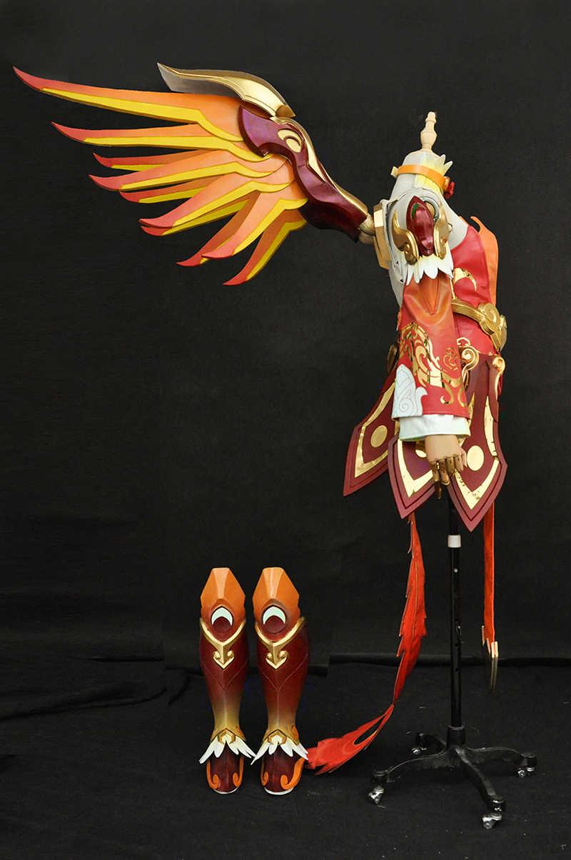 [Özelleştirmek] DVA Oyun OW D. R e r e r e r e r e r e r e r e r e r e Merhamet Cosplay Kostüm Yeni Cilt Üniforma tam set Ücretsiz Kargo