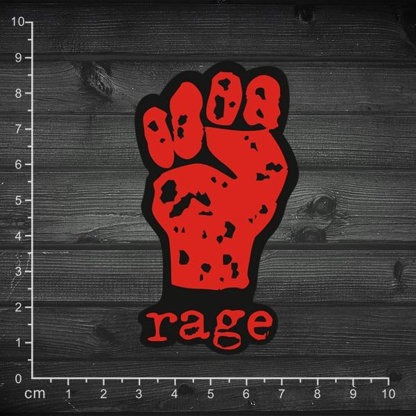 Ratm rage against the machine sticker rock roll band sticker guitar sticker
