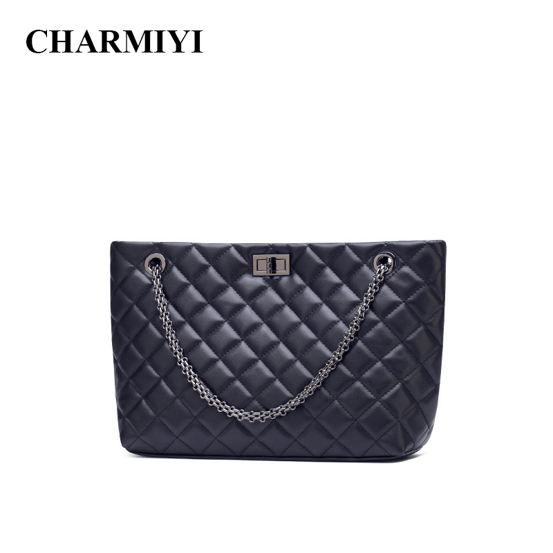 CHARMIYI Brand Winter Large Capacity Women Messenger Bags Designer Shoulder Bags Casual Lady Handbags Solid Travel Crossbody Bag charmiyi 2018 women handbags cowhide leather messenger bags luxury brand lady tote casual crossbody travel bag bolsa feminina