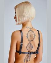 Women's Amazon Leather and Rivet Bra
