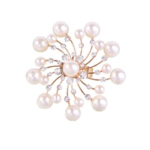 MIARA.L 2018 high quality adjustable open ring stylish gold pearl flower jewelry for women стоимость