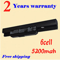 JIGU New 6 cell Laptop Battery For Asus A53SK K53SJ X43SV A53SV K53SK X43TA A53TA K53T X43U A43 A53Z K53U A43B K43 X43