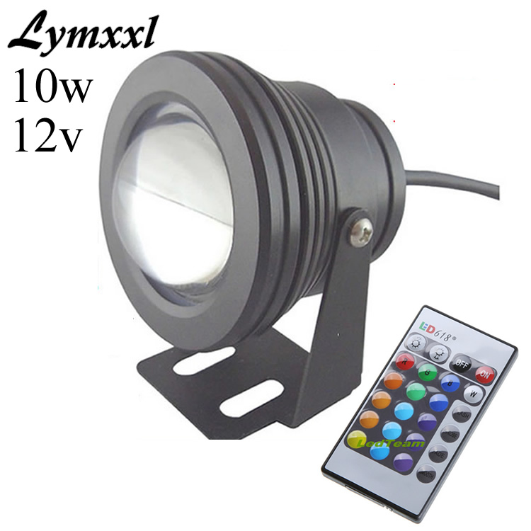 Remote Led Lamps Confident Promotion 10w 12v Underwater Light Rgb Led Light 1000lm Waterproof Ip68 Fountain Pool Lamp Pond Lights16 Color Change
