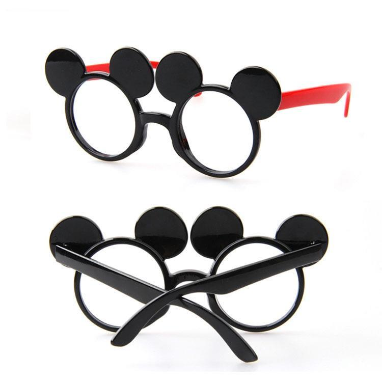 2pcs/lot 2017 NEW kids glasses frame Mouse Character Chidren fashion optical glasses Girls oculos de sol A18