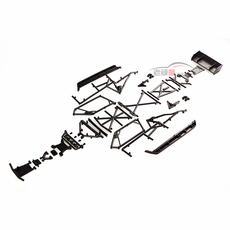 LC Racing high quality 1/14 series car accessories L6062 desert truck anti roll frame group cross-country racing speed card lc racing high quality 1 14 series car accessories l6062 desert truck anti roll frame group cross country racing speed card