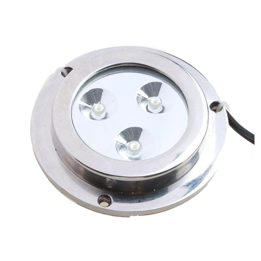Promotion 3*2w Green Stainless Steel IP68 Waterproof LED Marine Underwater Light Boat Yacht light