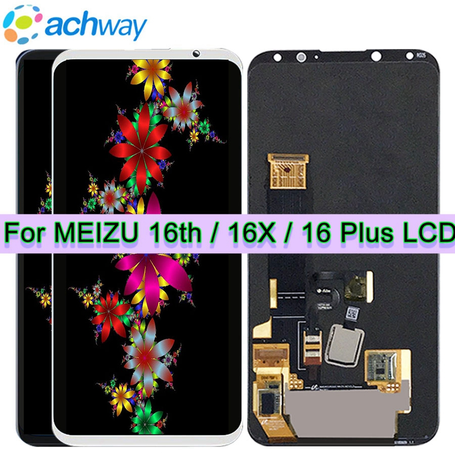 Original New 6 0 LCD Screen Meizu 16th LCD Display Touch Screen Digitizer Full Assembly Meizu