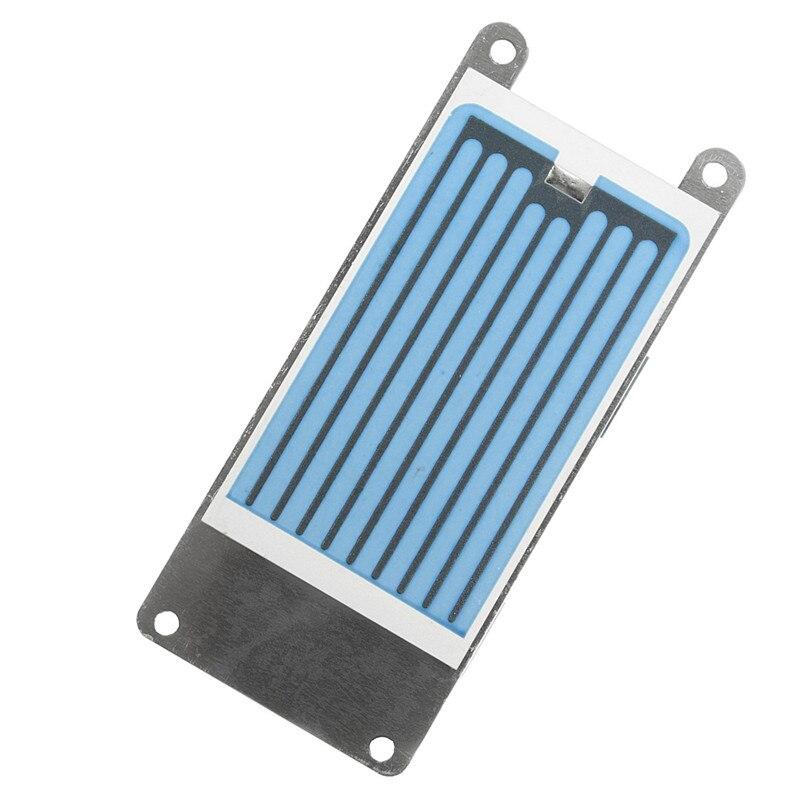 Синяя керамическая пластина с керамическим основанием для 10000 часов долгой работы 3,5 г/ч генератор озона для стерилизации аксессуаров
