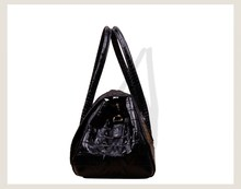 famous brand designer Women Leather Handbags Crocodile Pattern genuine leather women handbag
