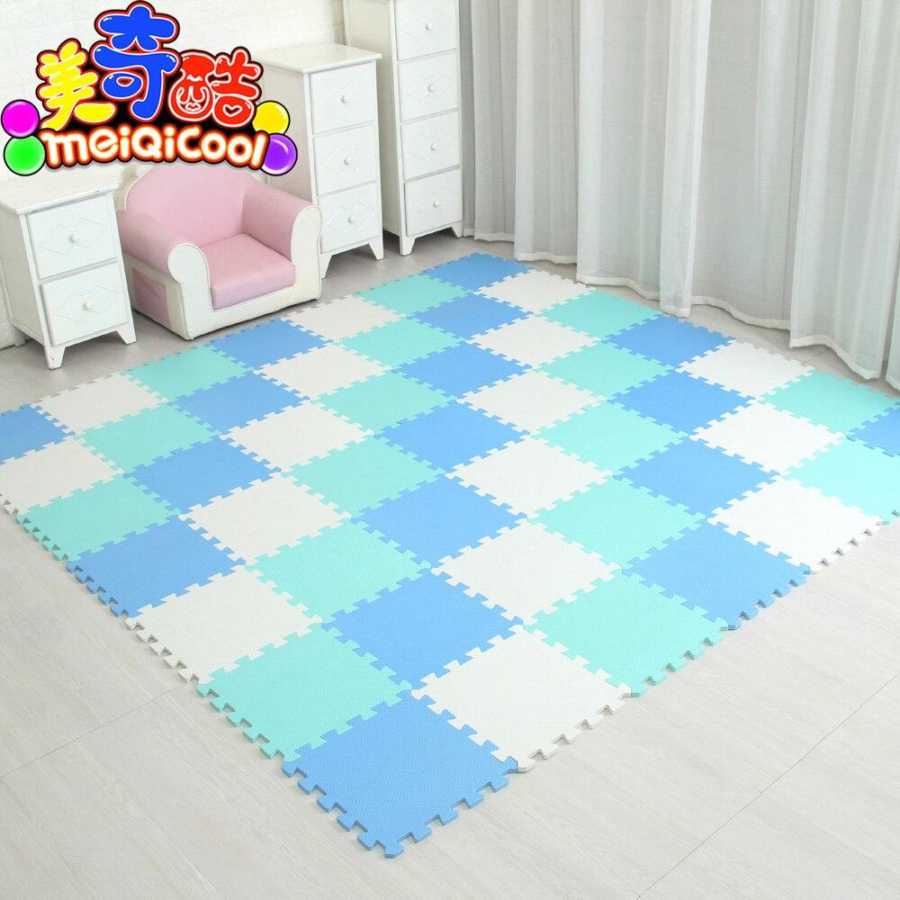 18/24/9 Pcs Pattern Foam Puzzle Kids Rug Carpet Split Joint EVA Baby Play Mat Indoor Soft Activity Puzzle Mats 29X29cm0.8cmThick
