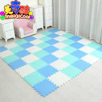 18/24/9 Pcs Pattern Foam Puzzle Kids Rug Carpet Split Joint EVA baby Play Mat Indoor Soft activity Puzzle Mats 29X29cm0.8cmThick