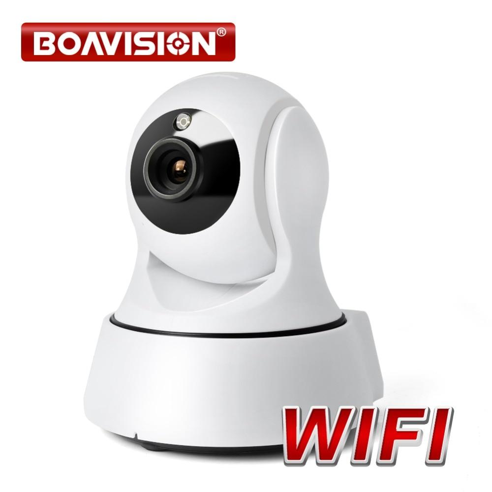 BOAVISION 1.0MP Wireless IP Camera WIFI Night Vision HD 720P Smart Camera Two Way Audio Home CCTV Surveillance Camera P2P View