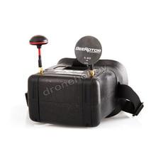 BeeRotor FPV kacamata video 5.8G transmisi Gambar Menerima Racer 40CH drone pesawat model