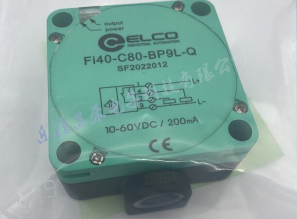 Livraison gratuite 100% nouveau Fi40-C80-BP9L-Q détecteur de proximité carré PNP normalement ouvert plus capteur inductif normalement fermé