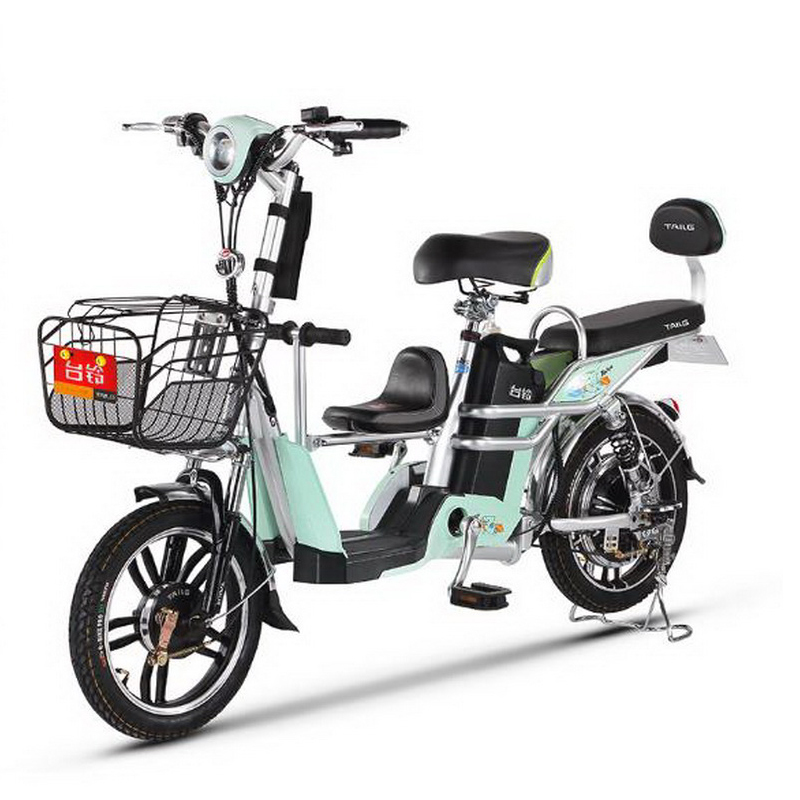 111001/New four generations / mother and child car / vacuum tire electric bicycle / 48V lithium battery adult electric car