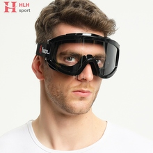 Fully Sealed Anti Sand Windproof Glasses Industrial Dust Tactical Glasses Airsoft Riding Eye Protection Hiking Cycling Glasses