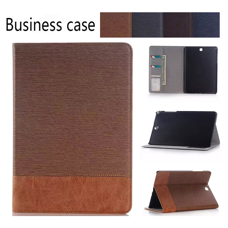 Cover Galaxy Tab Samsung Tab Pu-Protective-Case For S2 High-Quality Luxury T810/815