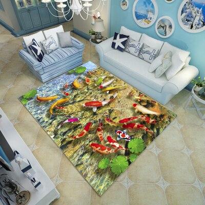 6 мм ультра-тонкий Гостиная 3D ковра журнальный столик ковер могут быть настроены диван Коврики Спальня Прямоугольный Коврик мягкий гибкая