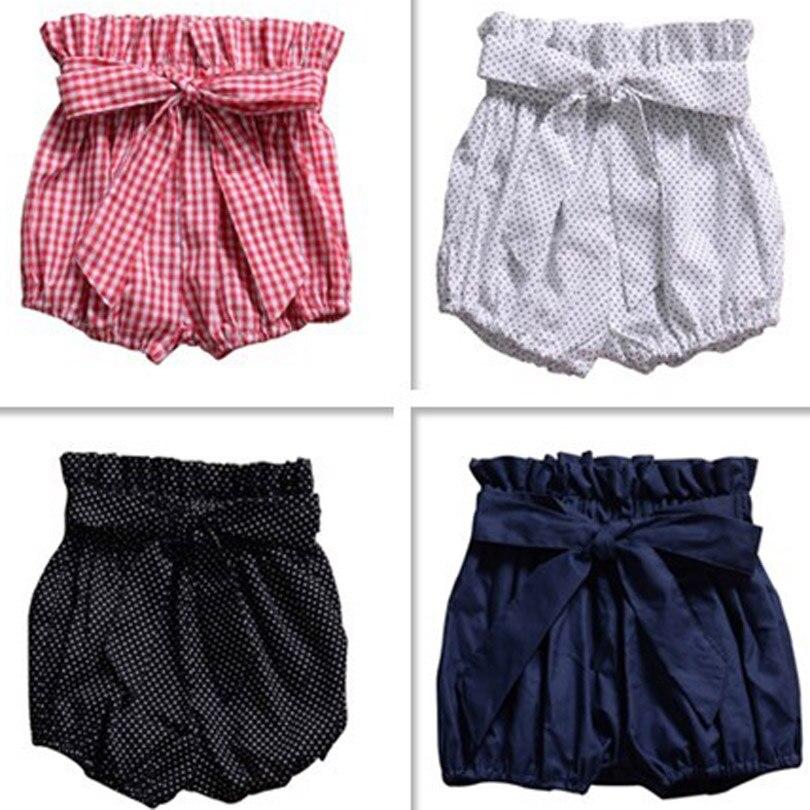 Summer Baby Girl   Shorts   Bow Knot Wooden Ear Bread Lanterns   Shorts   Big PP Pants Toddler Girls   Shorts   Infant Beach   Shorts   Leggings