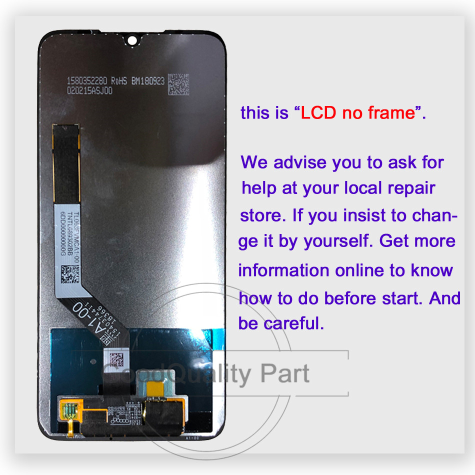 """Image 2 - 100% test for Xiaomi Redmi Note 7 Pro LCD Display Screen Touch Digitizer Snapdragon 660 Assembly 6.3""""for Redmi Note7 LCD Display-in Mobile Phone LCD Screens from Cellphones & Telecommunications"""