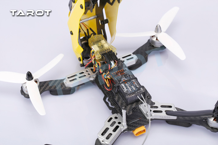 Kit quadrirotor Tarot 250 à travers FPV version fibre de carbone TL250C - 4