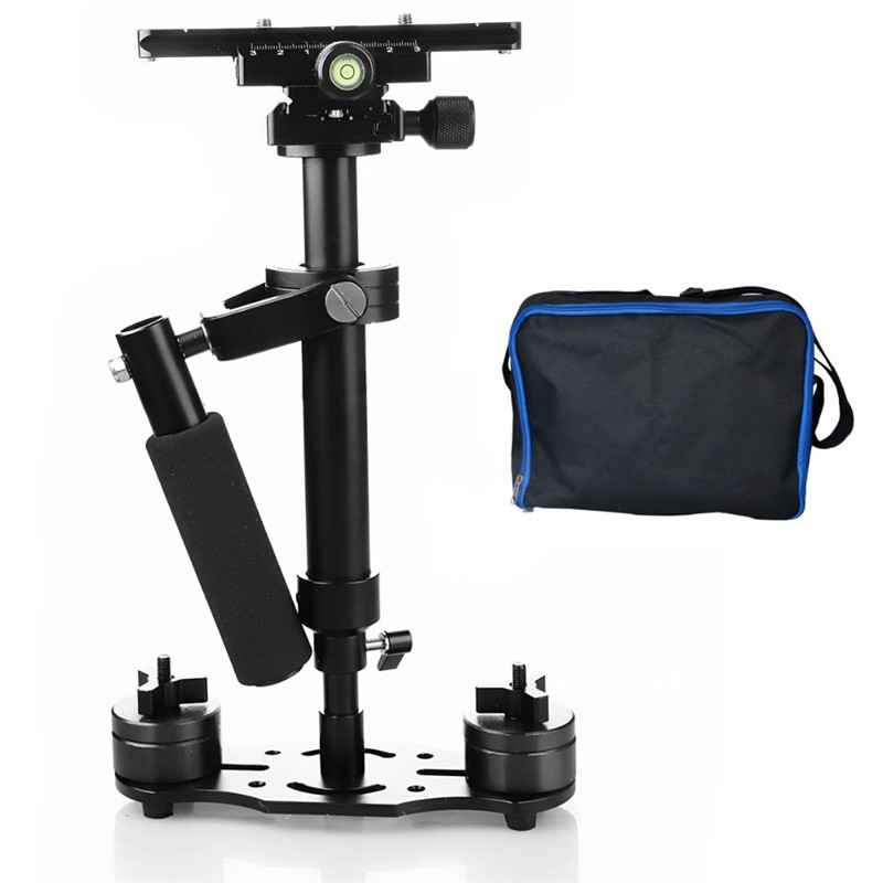 Adjustable S40 40CM Handheld Steadycam Stabilizer Shooting Holder with Gradienter for Camcorders Canon Nikon GoPro AEE DSLR купить