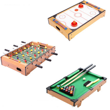Best Combo Play Toy Table Set Including Mini Air hockey Soccer table ...