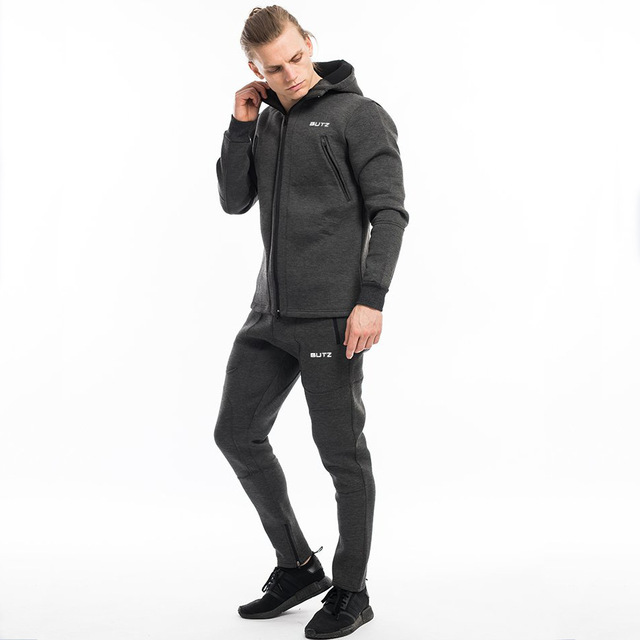 Men Sportswear Men's Clothing Suit Male Clothing Set Hoodie+Pant Running Set Mens Tracksuit Athleisure Suits