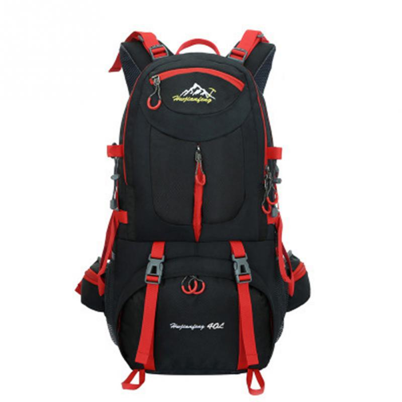 8Colors 40L 50L Waterproof Camping Hiking Backpack Outdoor Bag Backpacks Nylon Sport Bag for Climbing Travelling 40l outdoor hiking backpack 2l personal waist bag for travel climbing camping
