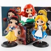 1 sztuk P posket Alicja śnieżka Syrenka Księżniczka Doll Ozdoby Motoryzacja Dekoracji Z Retail Box