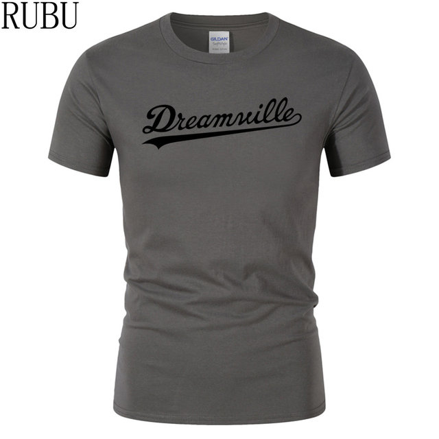 Online Shop Rubu Fashion Dreamville Print T Shirt Men Short Sleeves