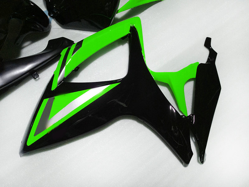 Upgrade your Fairing kits for Suzuki GSXR 600 750 06 07 K6 Injection motorcycle fairings GSXR750 2006 2007 GSXR600 green sets|Full Fairing Kits| |  - title=