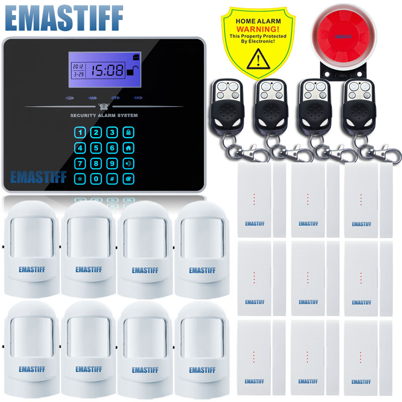 Free Shipping NEW upgrade G3B Remote Controller Touch Keypad Wireless GSM Alarm System 433MHz Home Burglar
