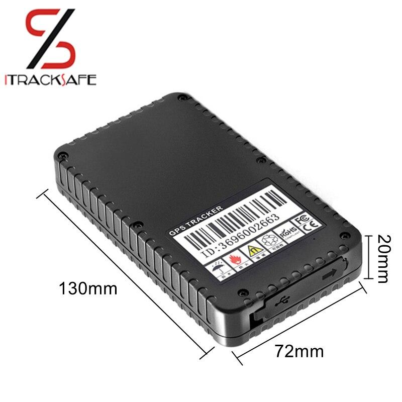 Без провода длительный срок службы батареи водостойкий sim-карта контейнер автомобильный трек gsm gps трекер локатор устройство сильный магнит...