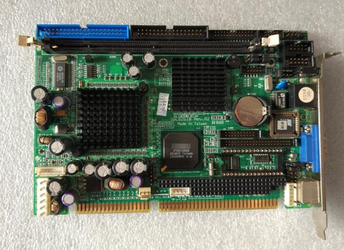 100 OK Original IPC Board SBC82610 A2 ISA Slot Industrial motherboard Half Size CPU Card PICMG1